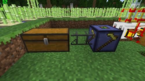 サトウキビ収穫機のセット