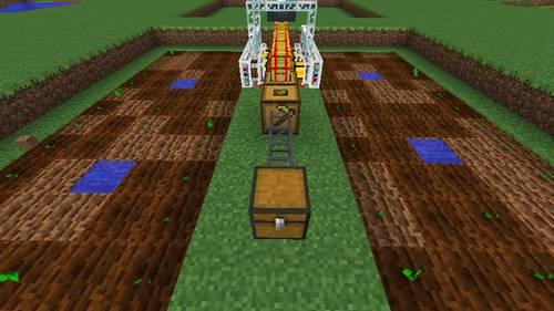 パンプキン収穫機のセット