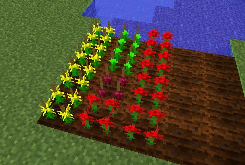 作物の交配 交配で新たな種ができる確率はあまり高くはありません。 この場合は黄色い... 作物の