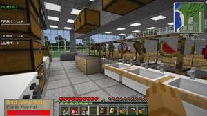 食堂建設風景